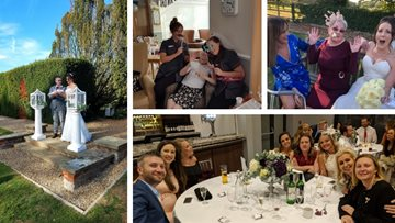 Wedding bells at Benfleet care home