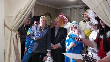 Castletown care home hosts nativity play