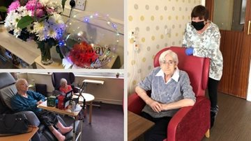 Manchester Mother's Day care home celebrations