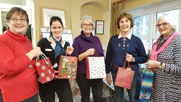 Christmas comes early for Evercreech care home Residents