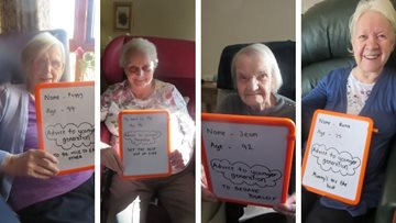 Bannockburn care home Residents share pearls of wisdom with younger generation