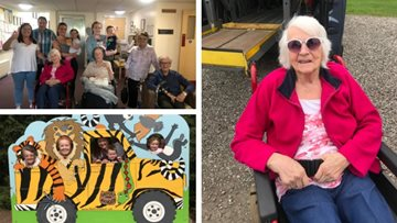 Wild day out for Perth care home Residents