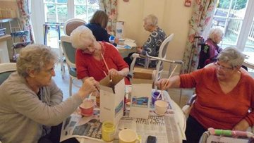 Quarry Hall prepare for Care Home Open Day