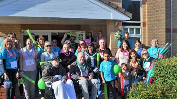Dunstable care home puts on walking boots for Alzheimer's Memory Walk