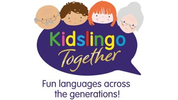 Intergenerational fun with Kidslingo at Eastleigh care home