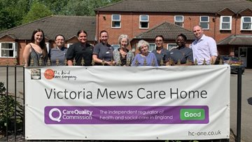 Coventry care home celebrates success in CQC report