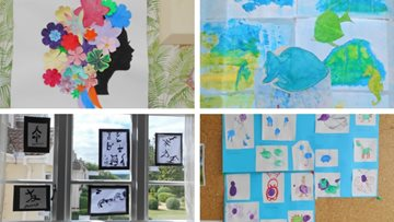 Limpley Stoke care home celebrates art at Care Home Open Day