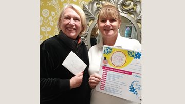 Worsley Lodge receives kind gesture from Swinton Palais Tea Dance