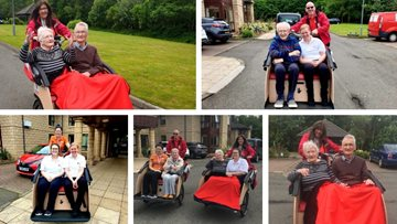 Cycling for Age at Linlithgow care home