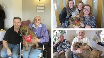 Guisborough care home hosts pawsome coffee afternoon for local charity