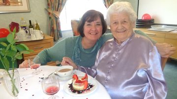 Valentine's wish granted at Roseberry Court