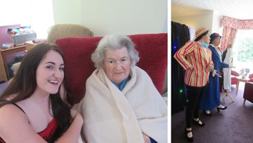 Residents enjoy summertime pantomime show