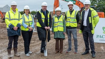HC-One CEO officially marks the beginning of ground-breaking new care home