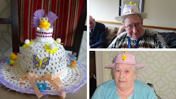 Egg-cellent day at Glenrothes care home