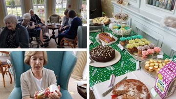 Thamesfield hosts coffee morning for Macmillan