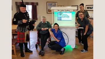 Preston care home enjoys success of 'Jolly Trolley'