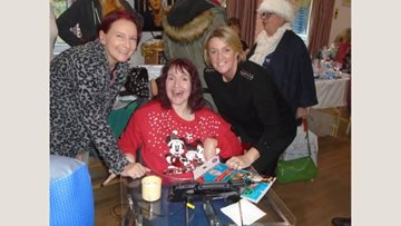 Himley care home enjoys Christmas Fayre