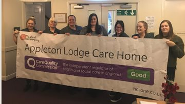 Stockport care home celebrates success in CQC report