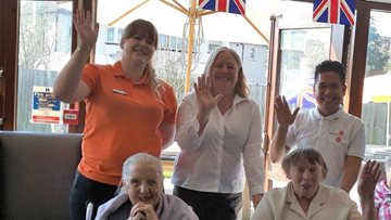Mitcham care home hosts open day