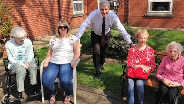 Local MP joins Ferndale Court for Care Home Open Day