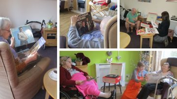 Desert Island Discs at Inverness care home