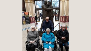 Spennymoor care home Residents visit Blackpool Illuminations