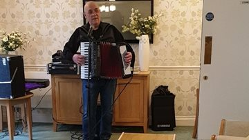 Limpley Stoke care home is alive with the sound of music