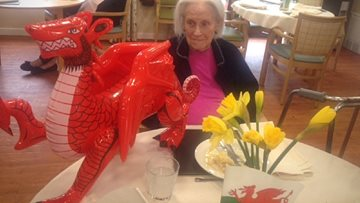 Llys Newydd celebrate a traditional St David's Day