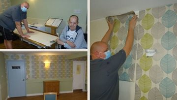 Drab to fab at Sutton-In-Ashfield care home