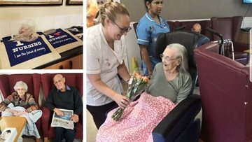 International Nurses Day celebrated at Preston care home