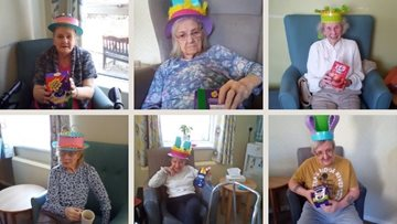 Merthyr Tydfil Residents celebrate Easter with LOTS of chocolate