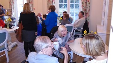 Dementia Cafe at Quarry Hall Care Home