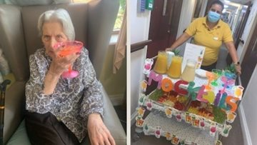 "Carnival at Mitcham care home ""Just like Notting Hill"""