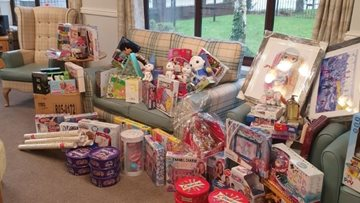 Manchester care home Colleagues host community toy appeal