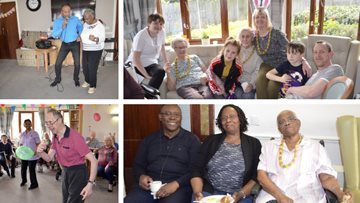 Entertaining Easter at Mitcham care home