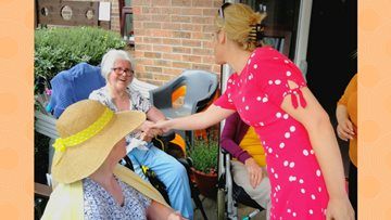 MP Laura Smith Visits Primrose House