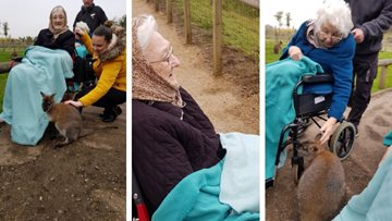 Doncaster care home Residents enjoy animalistic adventure at Yorkshire Wildlife Park
