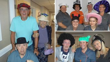Hats off to the Residents at Hartlepool care home
