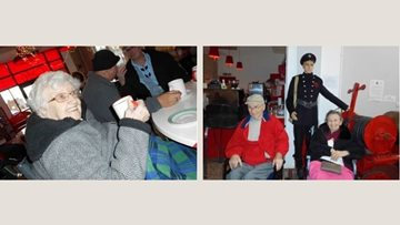 Day filled with memories at Gipton fire station for Leeds care home Residents