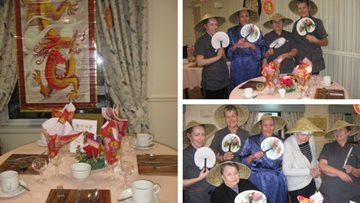 Chinese New Year at Stirling care home