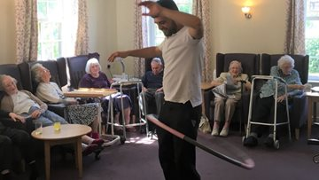 Residents enjoy reminiscent afternoon at Tile Hill care home