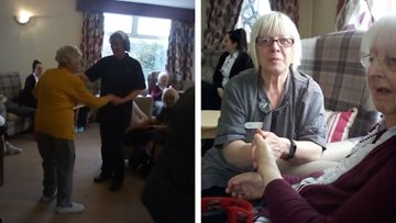 Eckington care home stop for fun and games