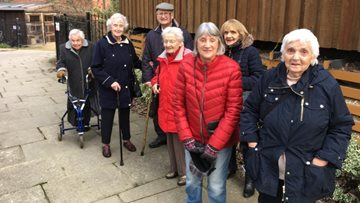 Eastbourne House Residents enjoy fun trip to Ouseburn Farm