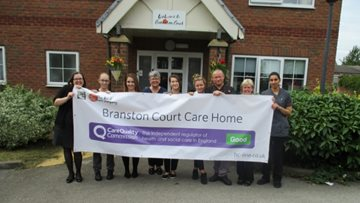 Burton-on-Trent care home celebrates success in CQC report