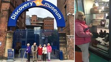 Residents enjoy a trip down memory lane at the Discovery Museum