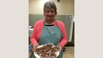 Residents enjoy baking afternoon at Pudsey care home