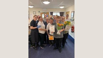 Long service awarded at Prescot care home