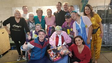 Cast of Mrs Brown's Boys makes dream come true for Coventry care home Resident