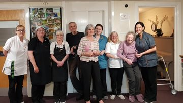 Glenrothes care home celebrates glowing Care Inspectorate report