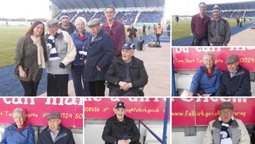 Residents score VIP treatment for Falkirk vs Dundee United game